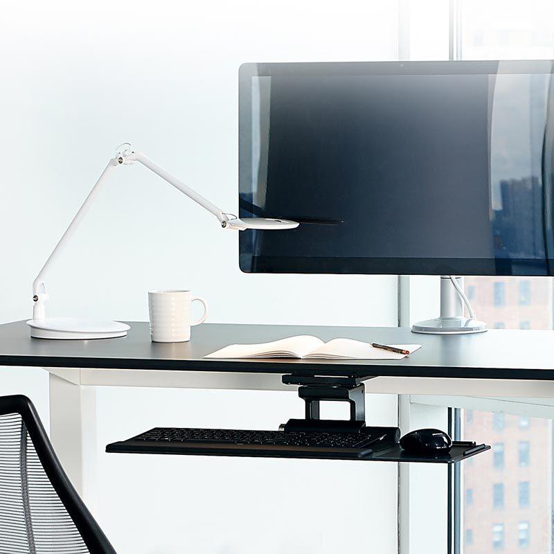 ergonomic under desk keyboard tray
