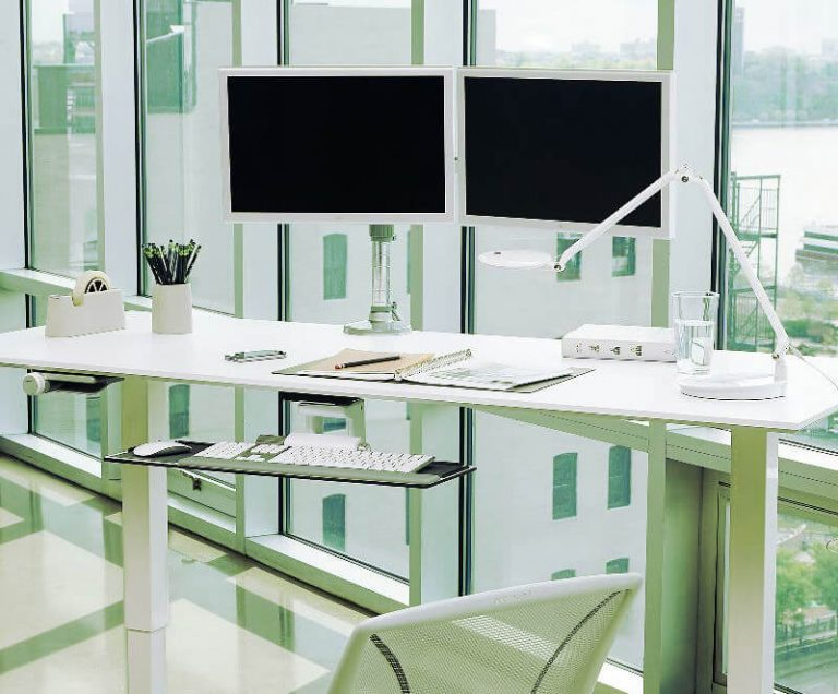 M Flex Multi-Monitor Arm System made by Humanscale