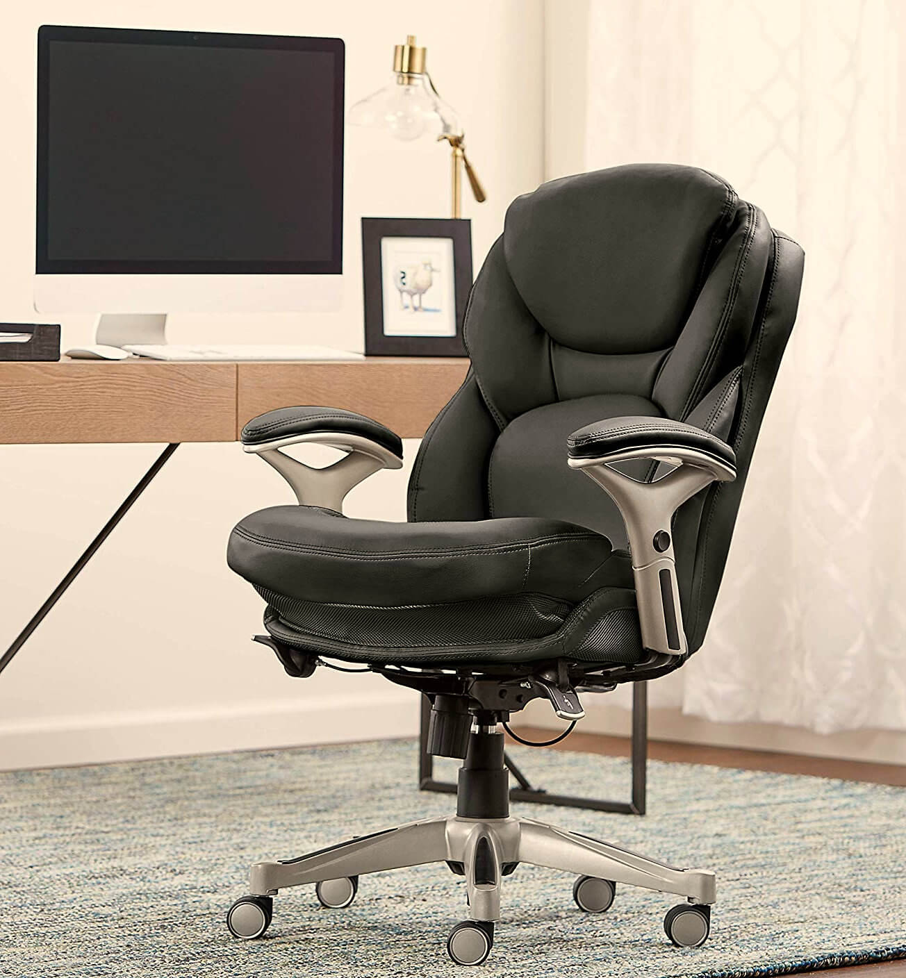 Serta Works Executive Ergonomic Office Chair Review ✔️ goStanding