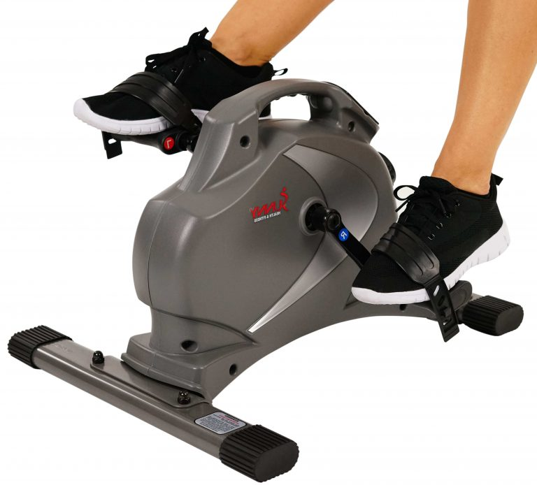 Sunny Health And Fitness Magnetic Mini Under Desk Exercise Bike