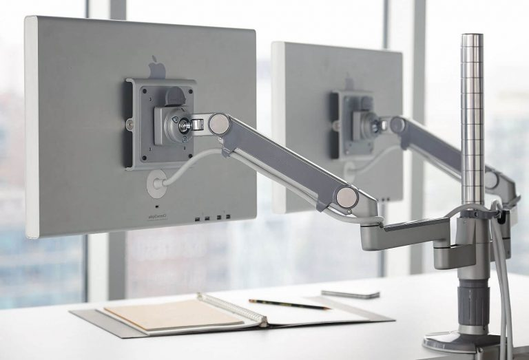 Humanscale M/Flex Multi-Monitor Arm System