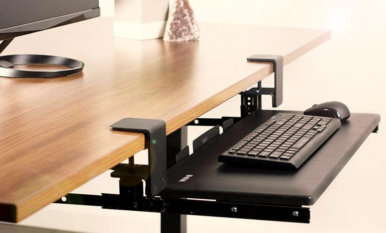 Vivo MOUNT-KB05E under-desk keyboard mount