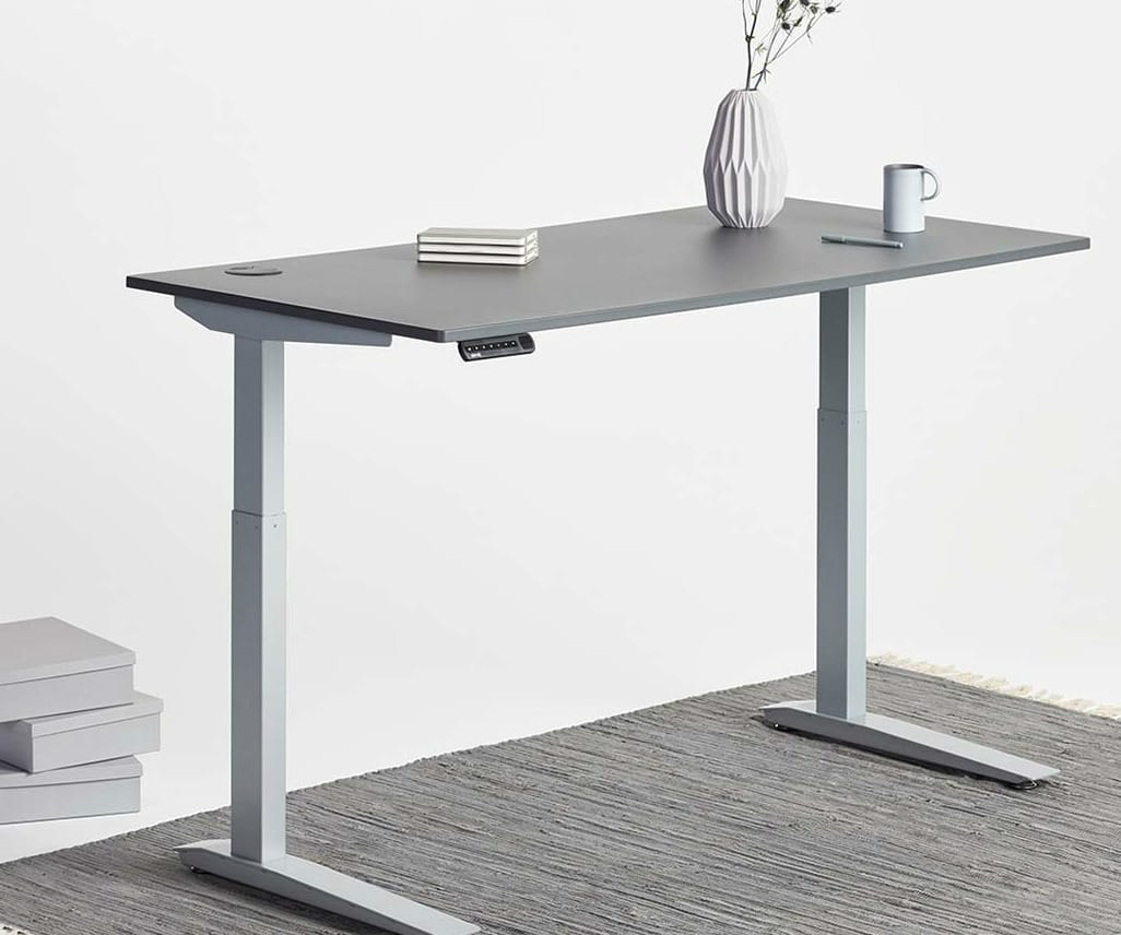 Jarvis Powdercoated sit-to-stand desk-image