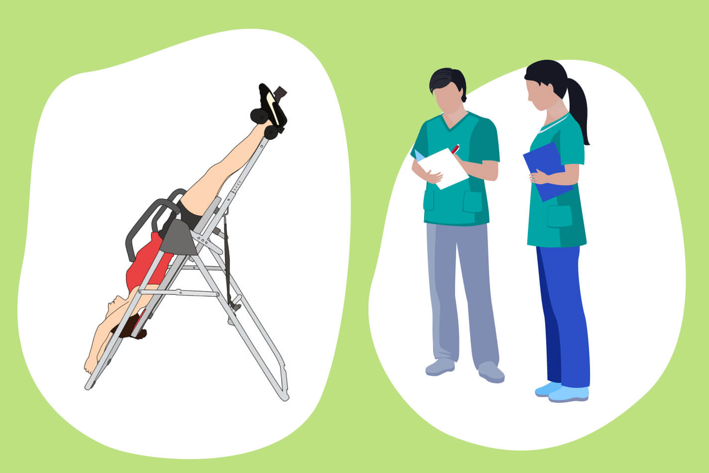 trainers-and-physical-therapists-use-inversion-tables