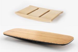 Balance boards for standing desks