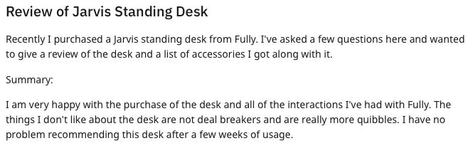 Jarvis desk review 1