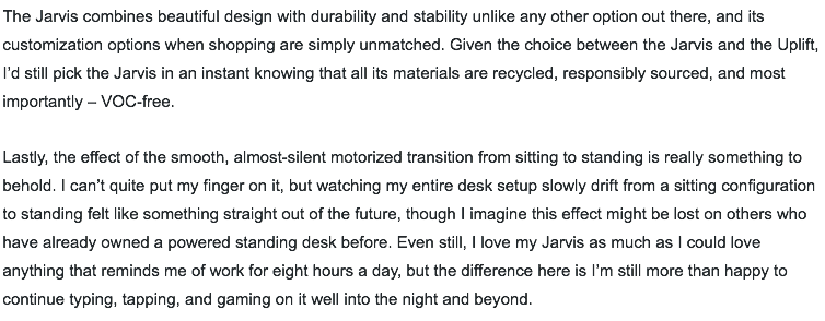 Jarvis desk review 4