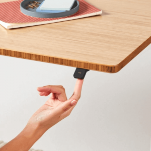 Jarvis table button for height adjustment
