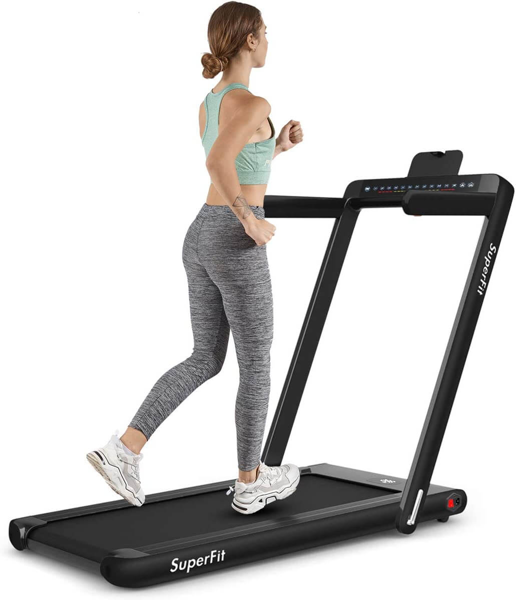 Goplus-2-in-1-Folding-Treadmill