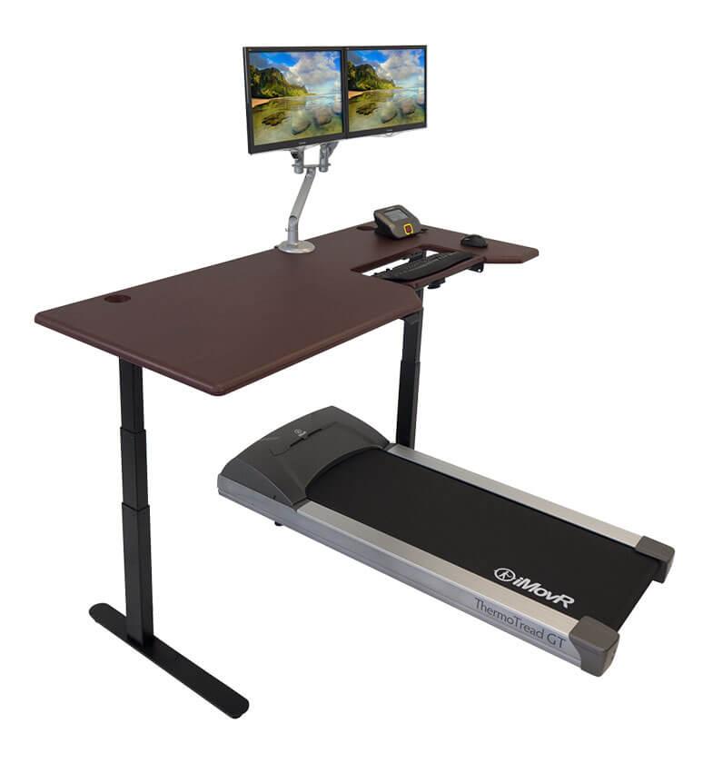 Lander Treadmill Desk with Steady Type