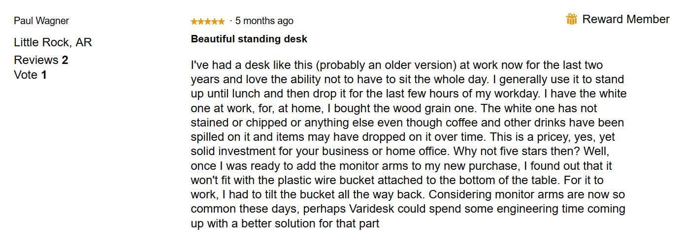Vari Standing Desk Review