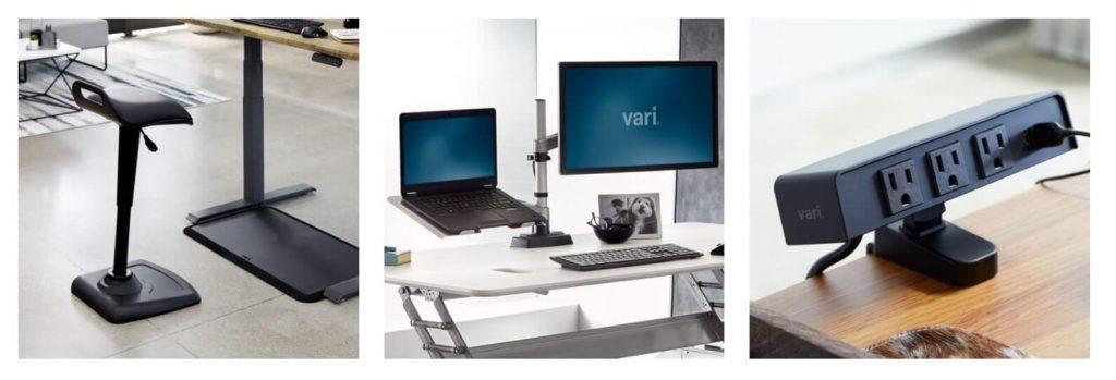VariDesk Electric Pro Plus 32 accessories