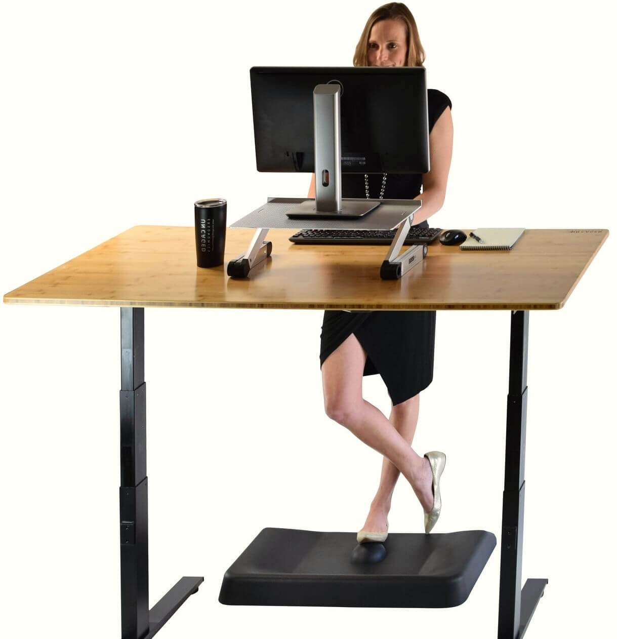 Active Standing Desk Mat made by Uncaged Ergonomics