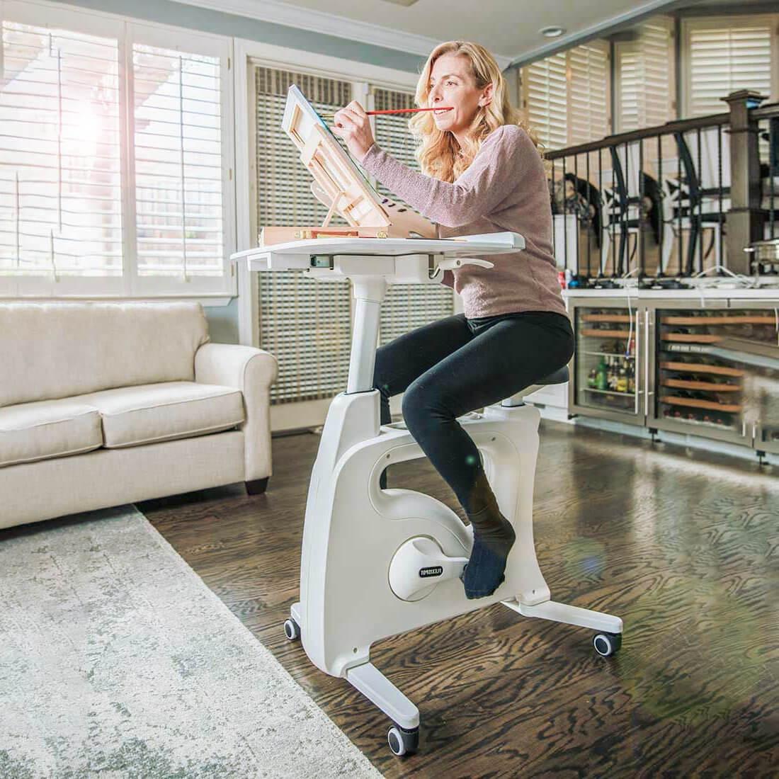 Flexispot Deskcise Pro under desk bike