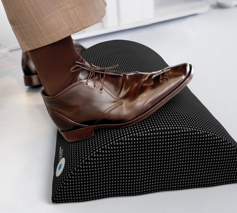 Office Ottoman Foot Rest Under Desk Non-Slip Ergonomic Foam Cushion