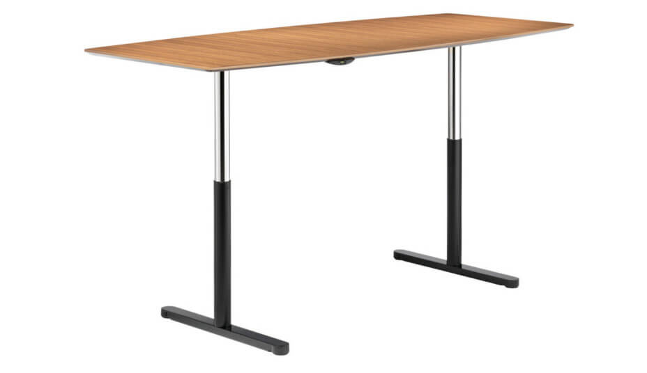 Travis 661 hight adjustable conference table