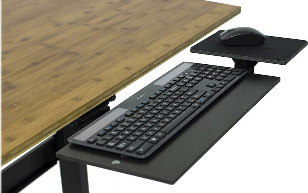 Uncaged Ergonomics KT1 keyboard and mouse tray
