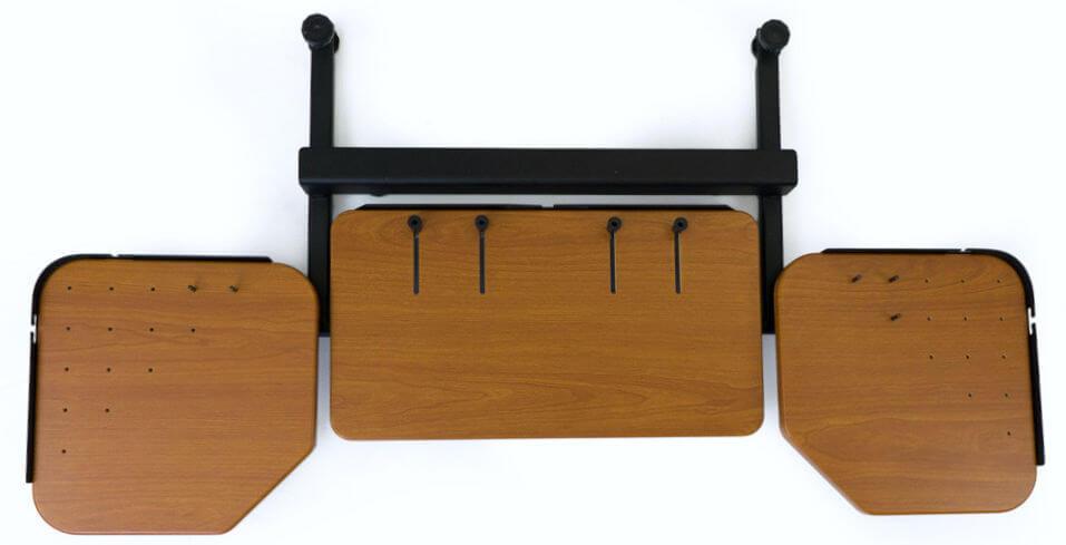 iMovR Elevon ergonomic desk extension